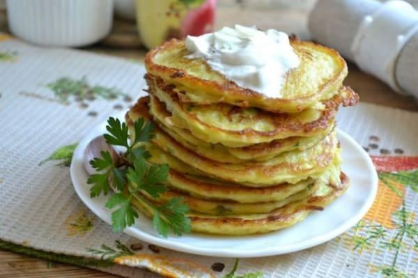 рецепты из кабачков оладьи вкусные и простые