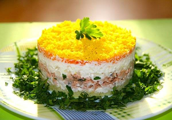 салат мужской рецепт с фото классический