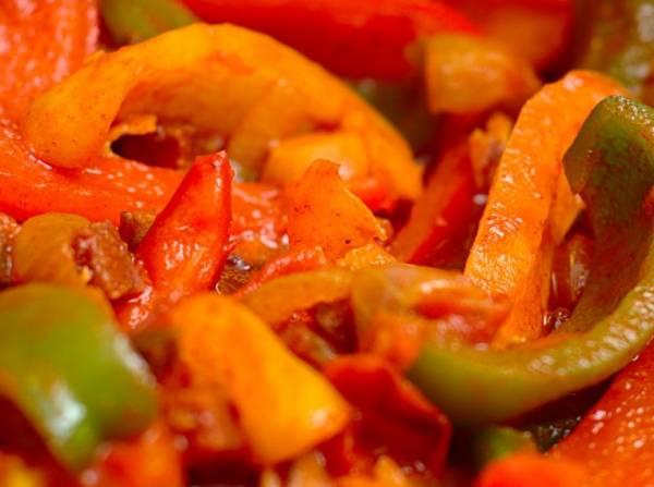 Лечо 3 кг помидор 4 кг перца