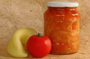Острое лечо на зиму с болгарским перцем