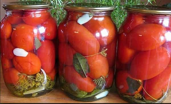 Маринованные помидоры на зиму быстро