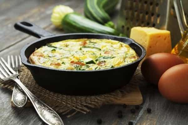запеканка из кабачков с яйцами в духовке рецепты