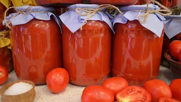 Помидоры томатный сок на зиму в домашних условиях рецепт