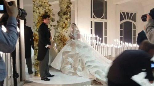 Свадьба Кузина и Артемовой состоялась: фото и видео