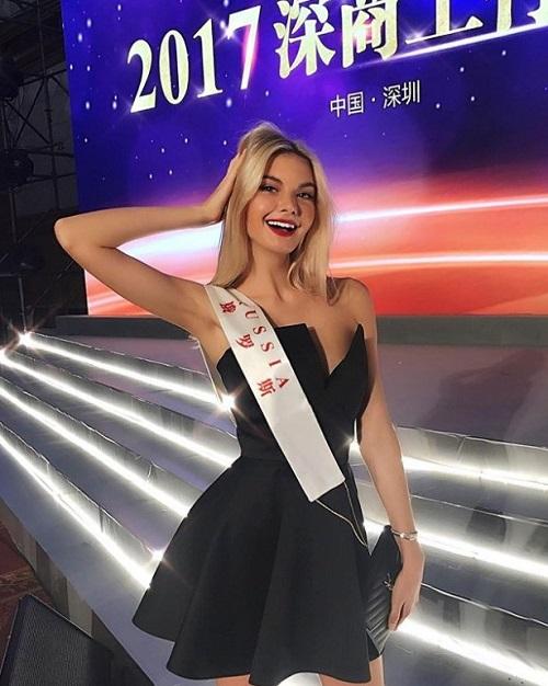 Участница конкурса Мисс Мира 2017 россия