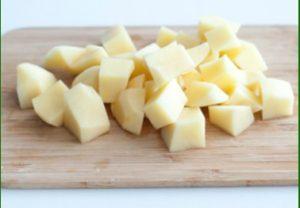 Сырный суп с картошкой