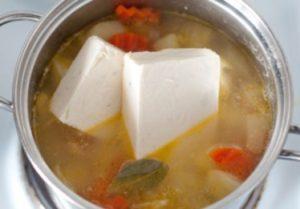 Сырный суп с плавленными сырками