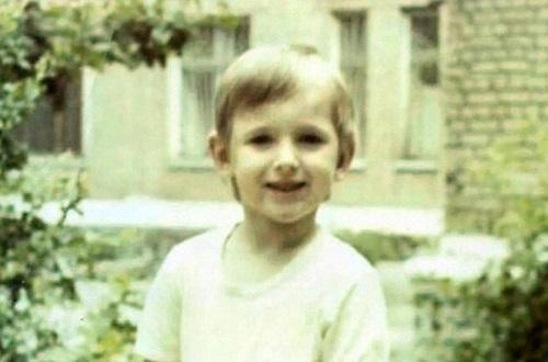 Влад Кадони в детстве