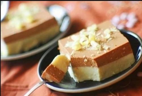 Праздничный творожный десерт