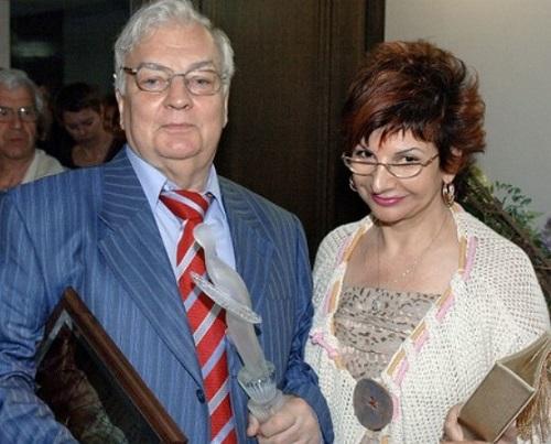 Михаил Державин с женой