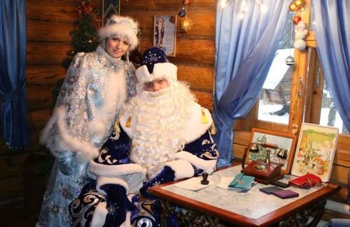 у Деда Мороза