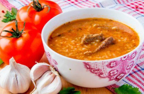Суп Харчо со свининой