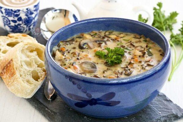 Суп с грибами: рецепты вкусного грибного супа