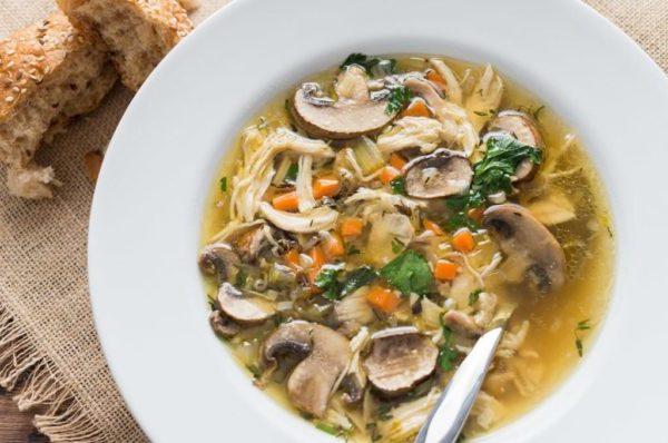 Суп с грибами: рецепты супа с замороженными, сушеными и свежими грибами