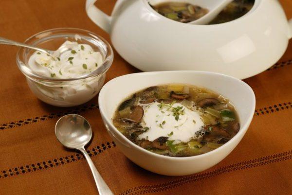 Суп с грибами: рецепты вкусного грибного супа с замороженными грибами