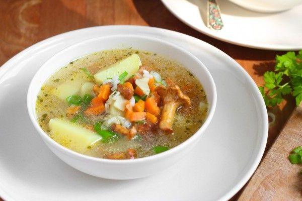 Суп с грибами: рецепты