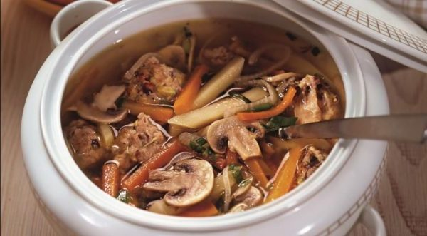 Суп с грибами: рецепты со свежими грибами