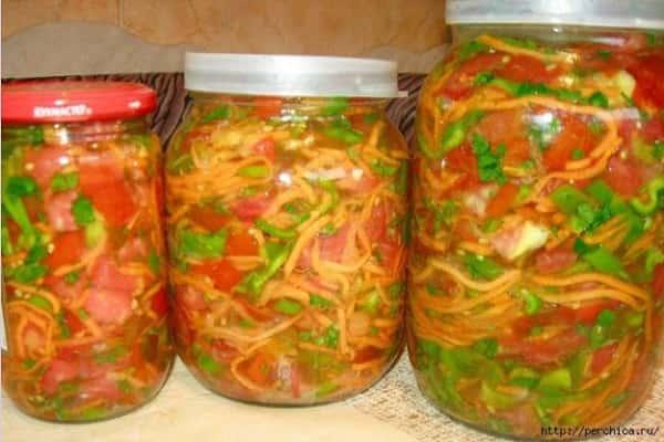 Заправка на зиму для супа