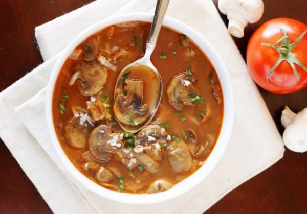 Суп с грибами: рецепты с замороженными, сушеными и свежими грибами