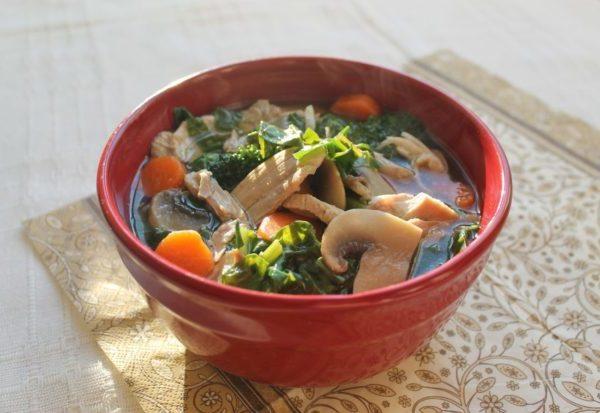 Суп с грибами: рецепты с фото