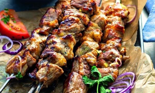 шашлик із свинини в томате рецепт мягкие