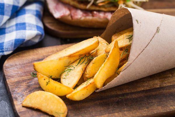 Картошка по деревенски в духовке как в макдональдсе