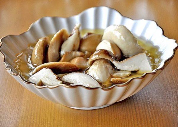 Маринованные белые грибы на зиму быстрого приготовления