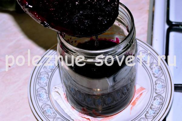 Варенье из черной смородины как желе на зиму