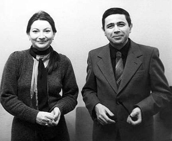 Петросян и Степаненко в молодости