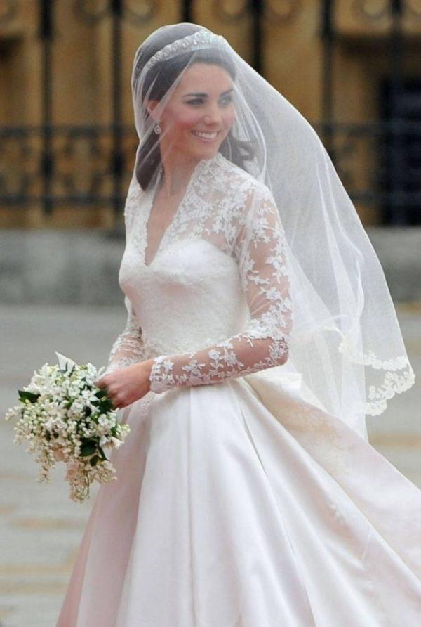 Меган Маркл: что было скрыто в свадебном платье