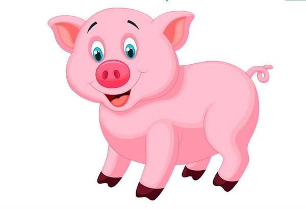 Символ 2019 года Желтой Свиньи по Восточному календарю